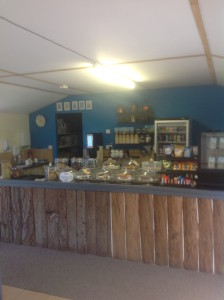Photo of the cafe at Axe Valley Park
